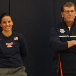 Jen Rizzotti & Geno Auriemma