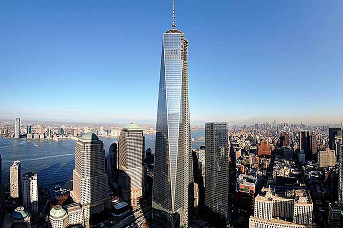 Dine near the top of one world trade center when the - Architekt one world trade center ...