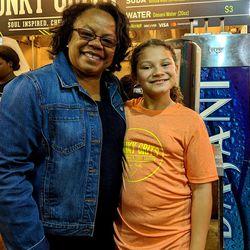 Former Minneapolis Mayor Sharon Sayles Belton and Josephine Brewington