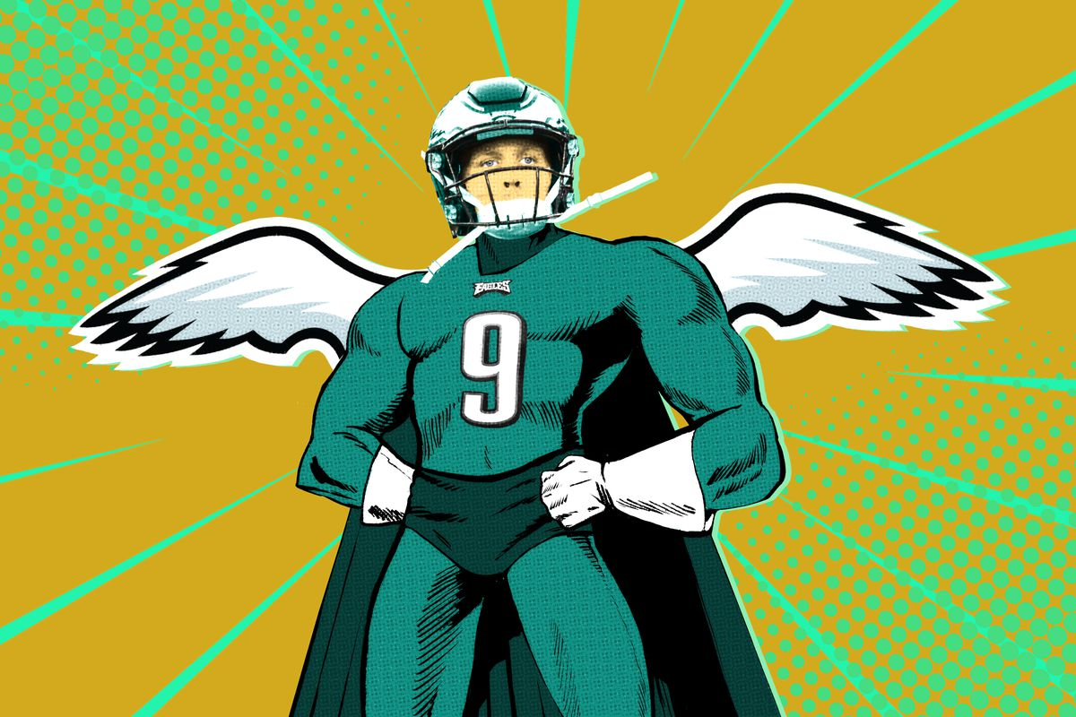 lowest price 2e274 74acc Nick Foles's Playoff Sequel Is Already the Stuff of ...