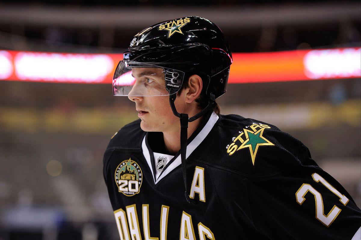 The Bruins' Loui Eriksson, former Dallas Star