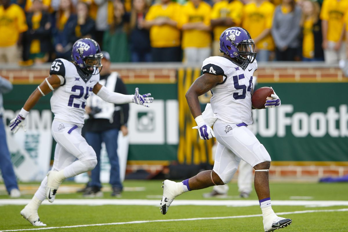 TCU has one of the top defenses in the Big 12.
