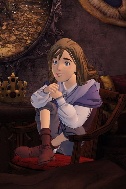 King's Quest: A Knight to Remember - Gwendolyn crop 480