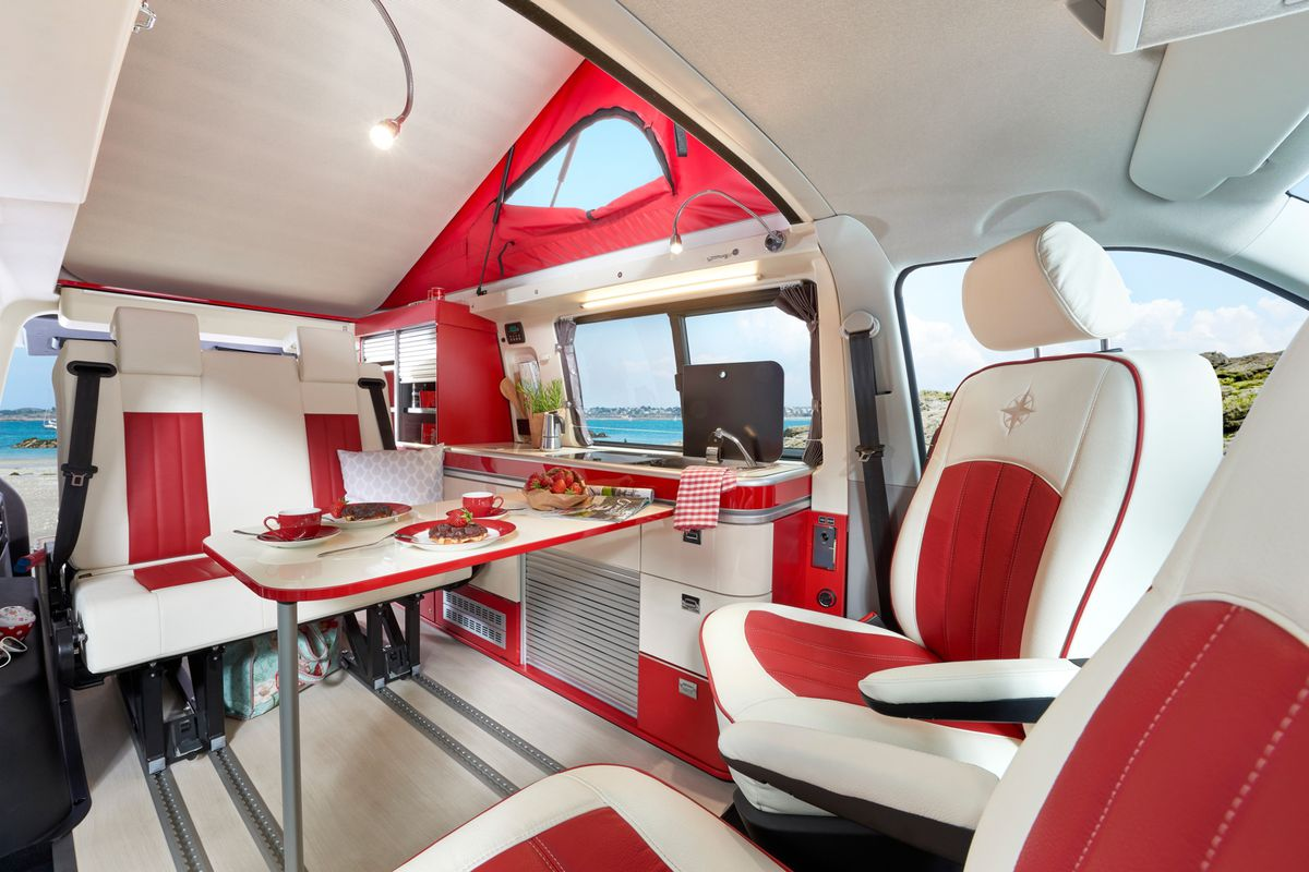 westfalia camper van  giving   diner vibes curbed