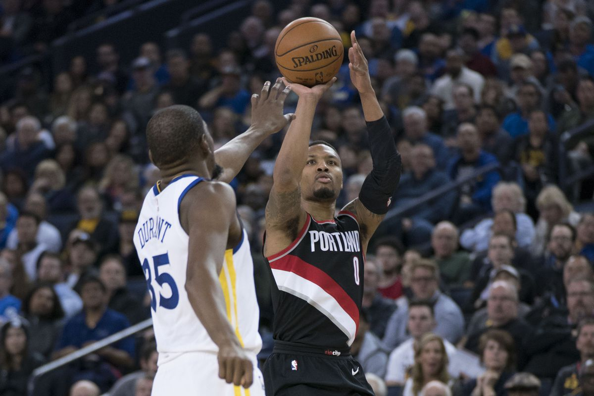 Kevin Durant sets Warriors scoring mark with 50 in loss to Blazers