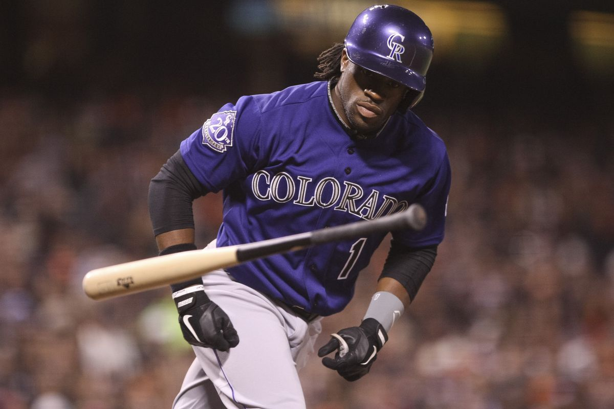 The Rockies often forget to bring their bats to San Francisco.