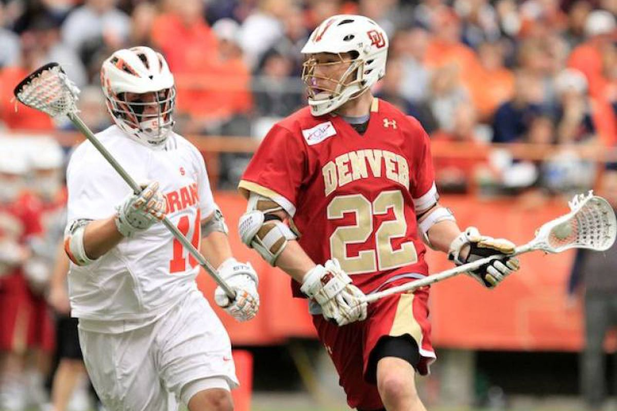Mark Matthews leads the way for the 2011 Denver Pioneers