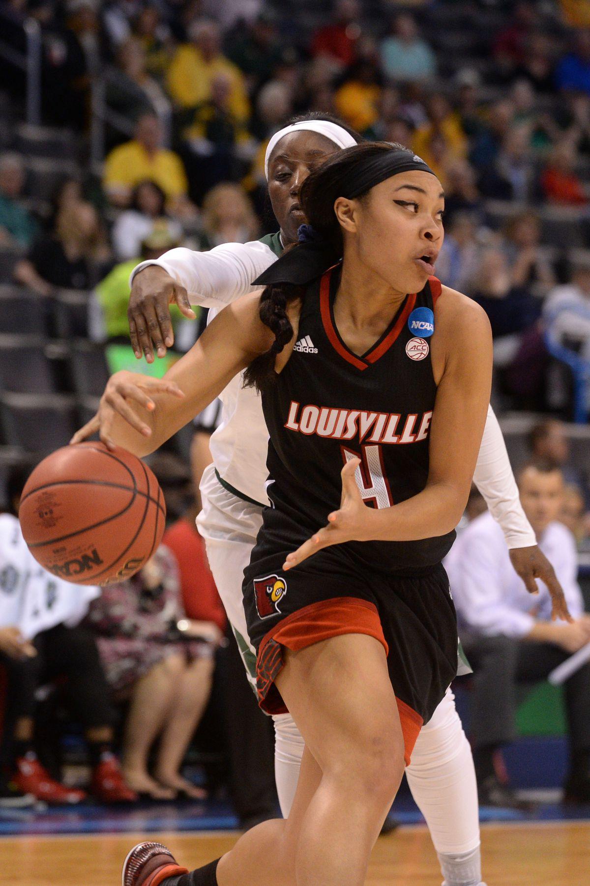 NCAA Womens Basketball: NCAA Tournament-Oklahoma City Regional-Baylor vs Louisville