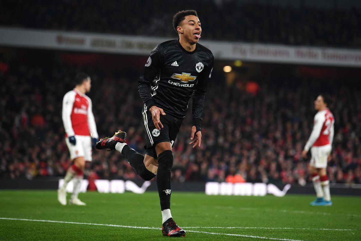 Arsenal 1-3 Manchester United: Lingard Nets Brace As