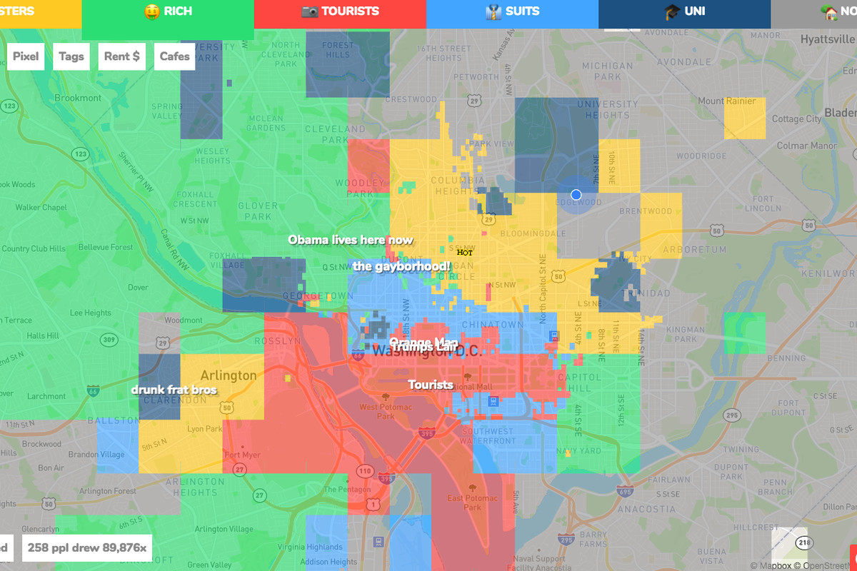 Just how accurate is this cringeworthy map of Washington ... Detroit Map Of Stereotypes on detroit love, detroit community, detroit culture, detroit beauty, detroit geography, detroit men, detroit violence, detroit symbols, detroit crime, detroit poverty, detroit food,