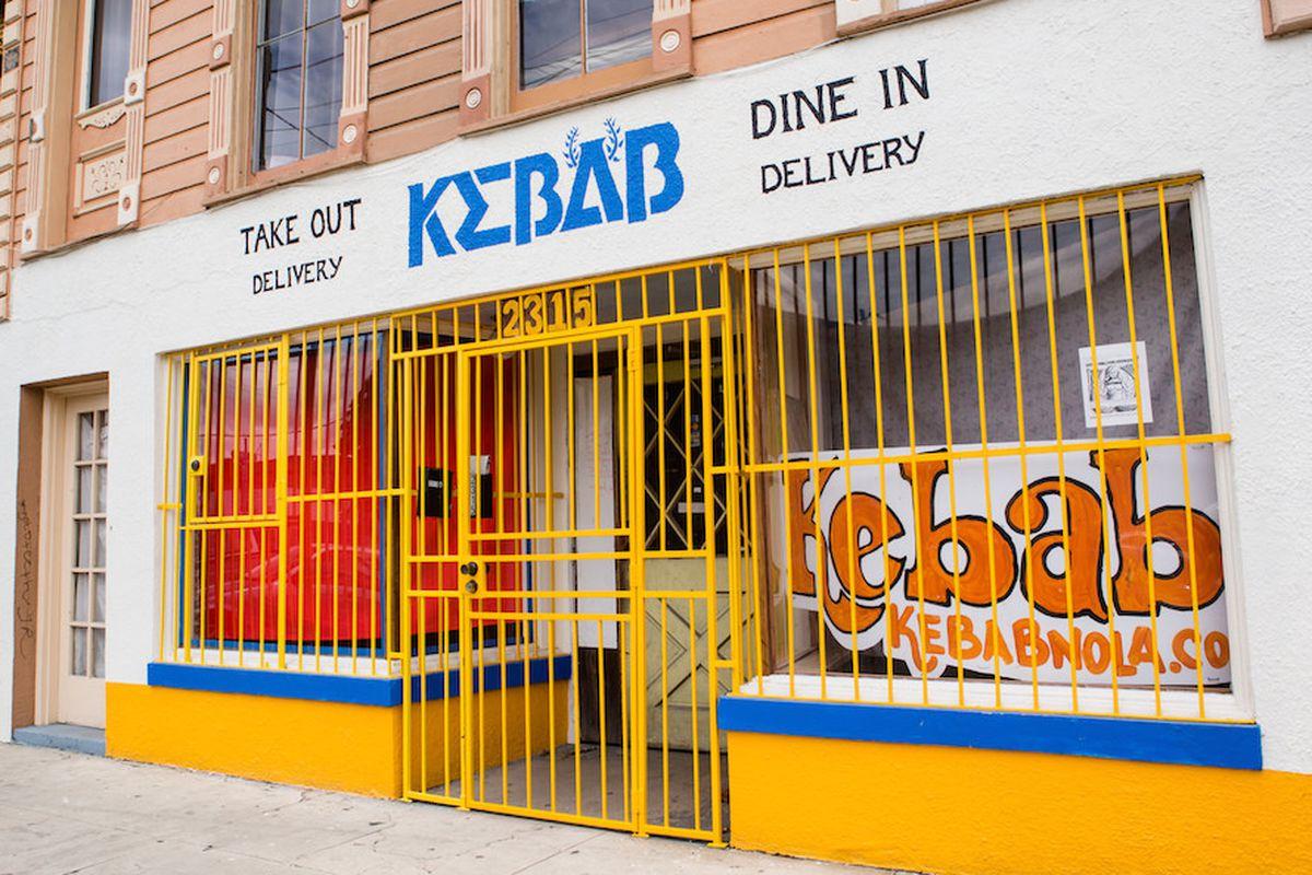 Kebab, on St. Claude Avenue