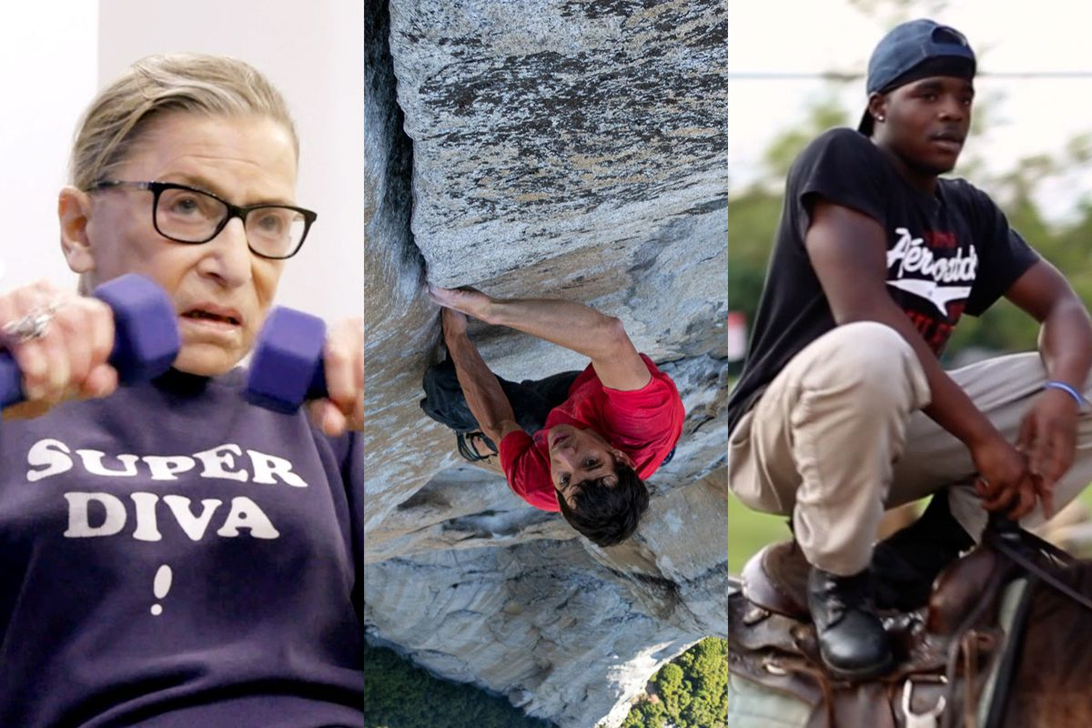 RBG, Free Solo, and Hale County This Morning, This Evening are nominated for Best Documentary Feature at the Oscars, alongside Minding the Gap and Of Fathers and Sons.