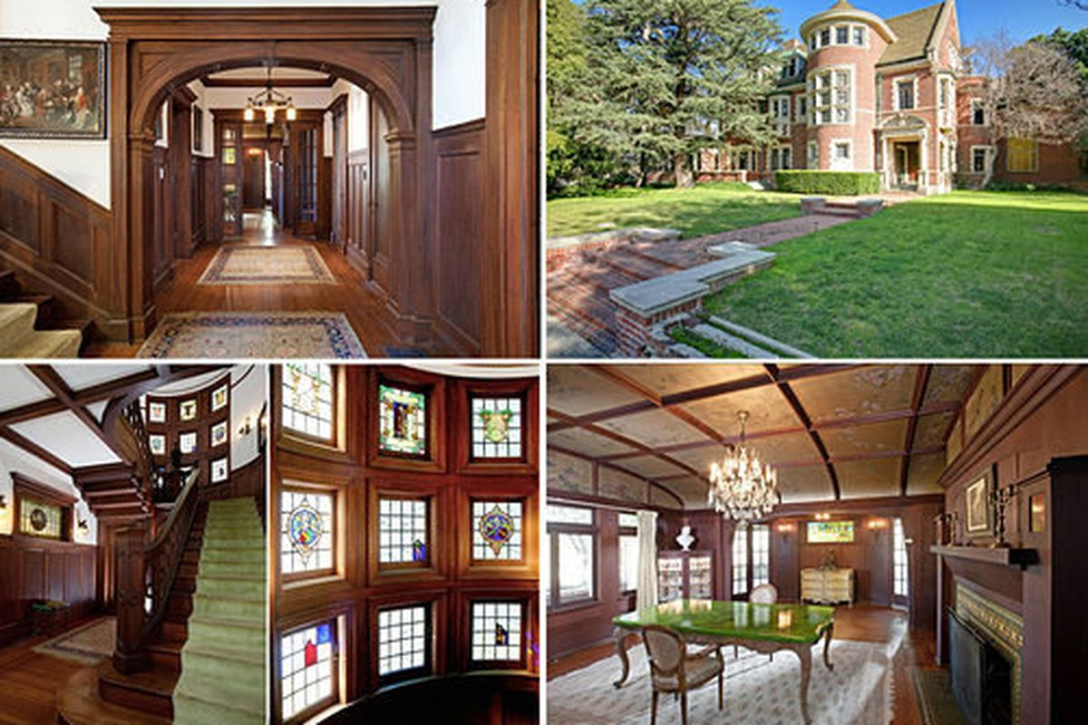 """The American Horror Story house (aka the Rosenheim Mansion) <a href=""""http://la.curbed.com/archives/2015/03/american_horror_story_mansion_sale_angela_oakenfold.php"""">finally sold</a> in March after years on the market"""