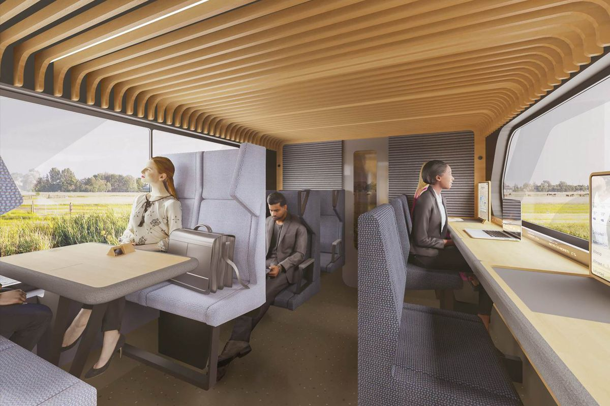 Dutch Train Concept Design For 2025 Unveiled Curbed