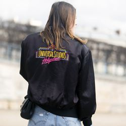 Vintage bomber jackets are all the rage in Paris.