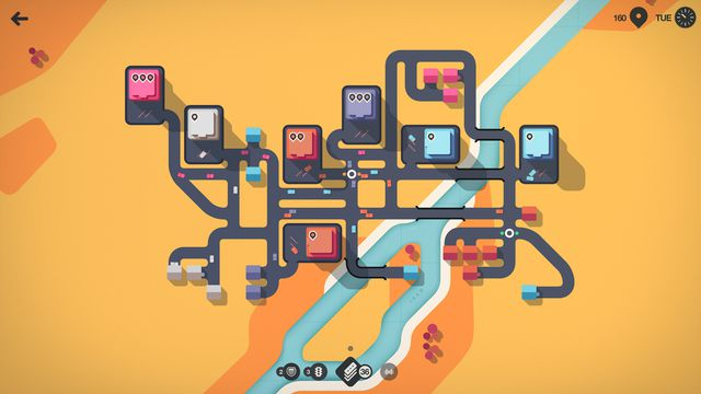 Mini Motorways, a chill game about traffic management, comes to PC