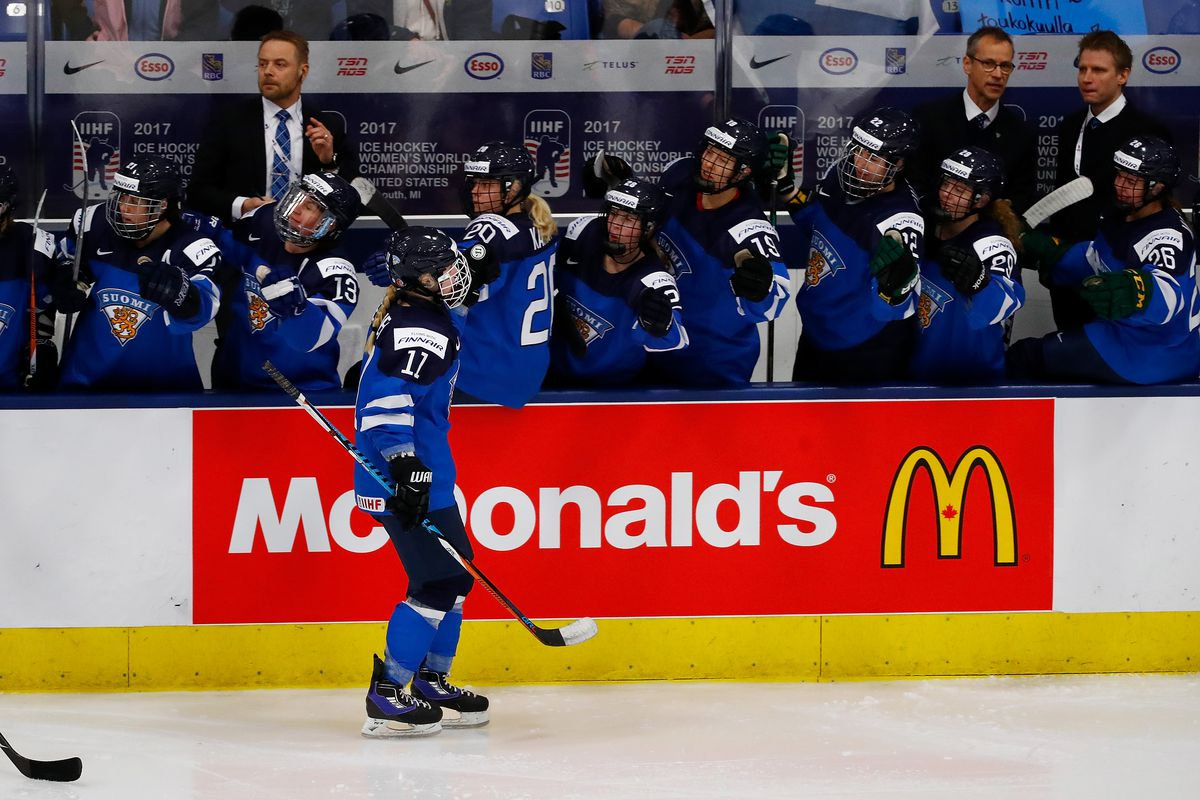 Germany v Finland - 2017 IIHF Women's Bronze Medal Game