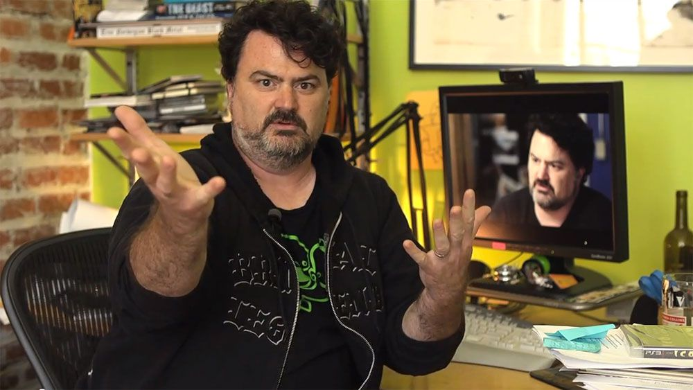 Tim Schafer of Double Fine Productions