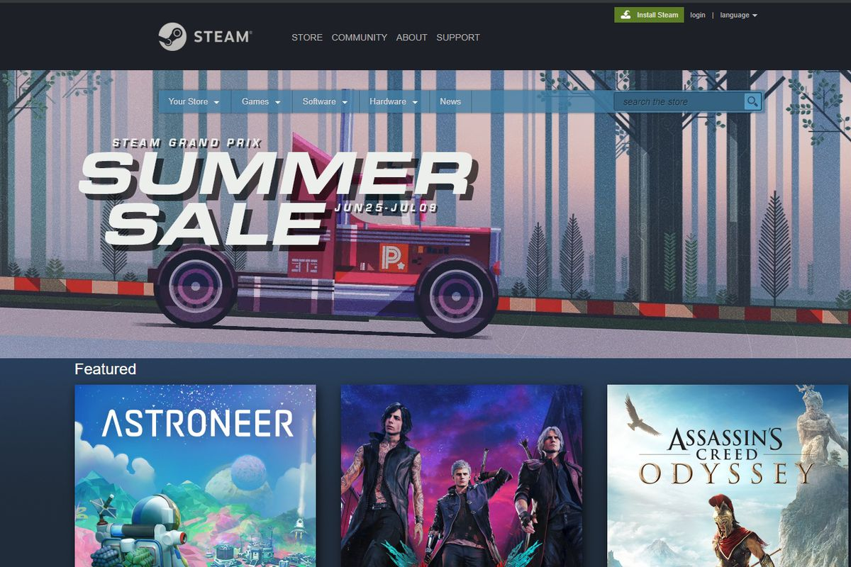 Steam's 2019 summer sale: the best discounts on popular PC