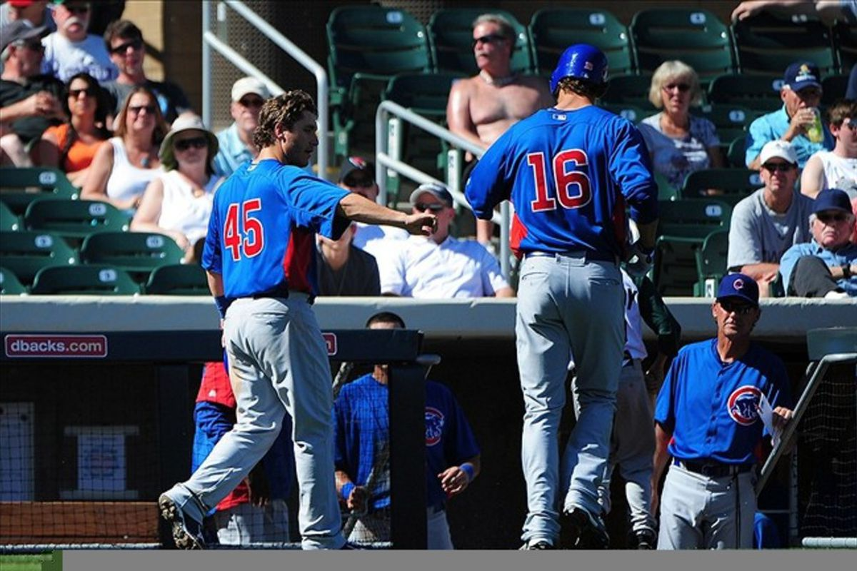 Adrian Cardenas emptied the bases with a double in the first inning. Credit: Kyle Terada-US PRESSWIRE
