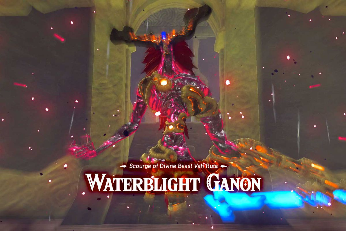 Waterblight Ganon Guide Polygon