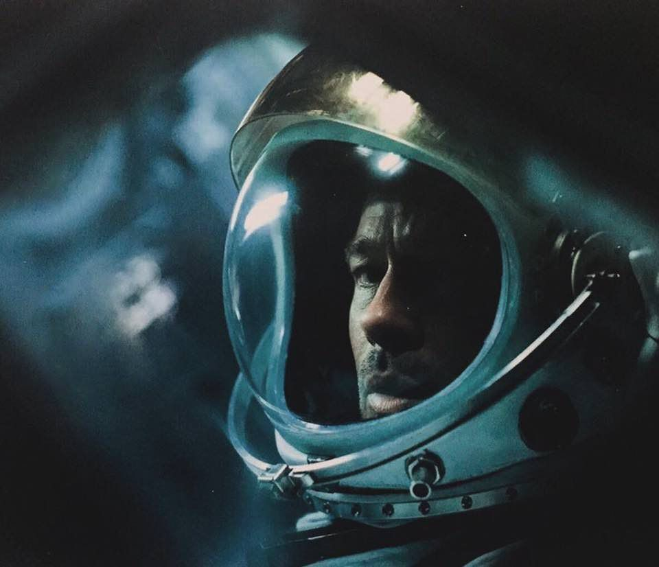 Brad Pitt goes to space in Ad Astra