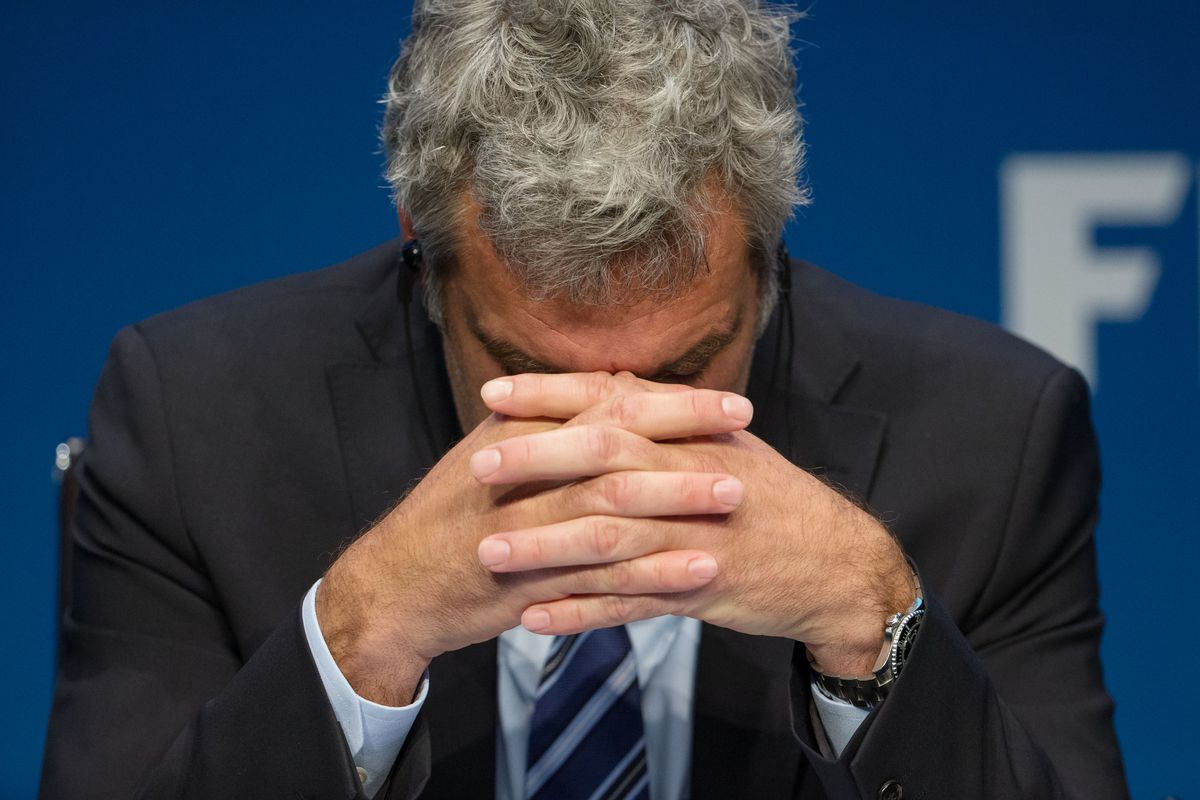 FIFA director of communications Walter de Gregorio, during a press conference held after the arrests.