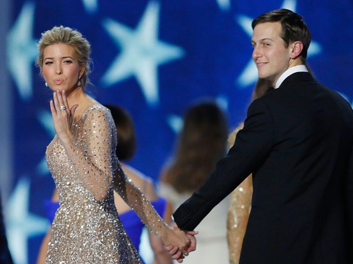 Ivanka Trump and husband Jared Kushner at the Freedom Inagural Ball in Washington, D.C.