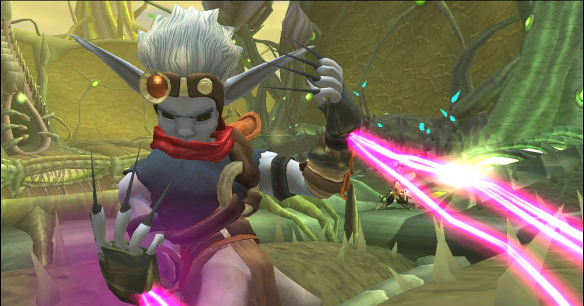 Three Jak and Daxter PS2 Classics arrive on PS4 next week
