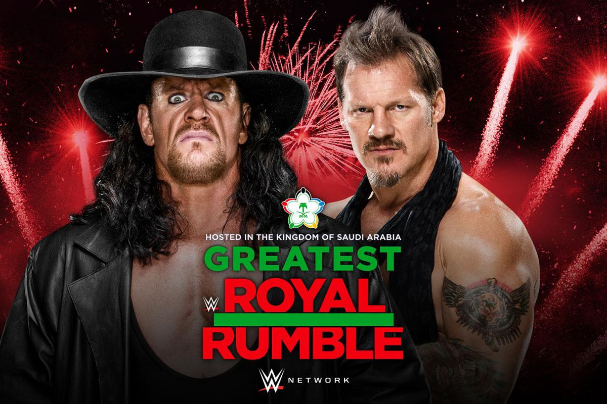 Image result for Greatest Royal Rumble Undertaker vs Chris Jericho