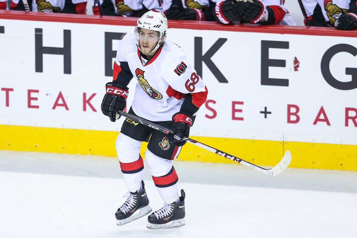 Will Mike Hoffman see offensive time with Mika Zibanejad this season?