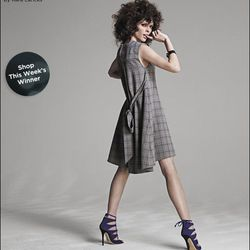 "<a href=""http://www.saksfifthavenue.com/editorial/FashionStar.jsp?&sre=mhp0"">Fashion Star Plaid Shift Dress by Kara Laricks, $325</a>"