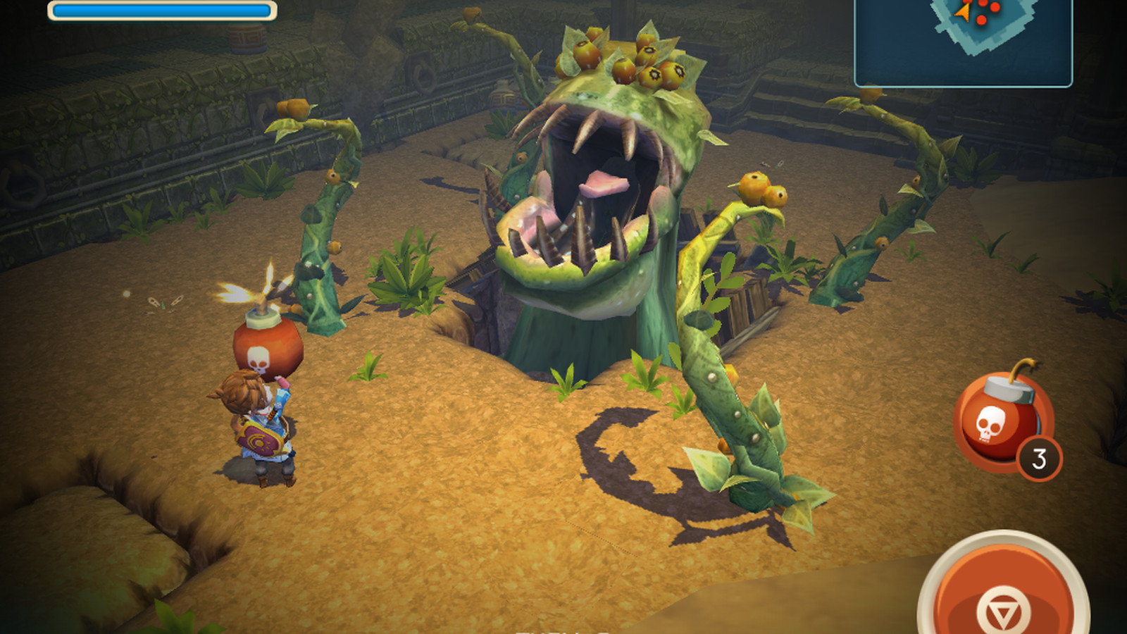 Oceanhorn Is A Zelda Game For Your Ipad But Not A Very Good One The Verge