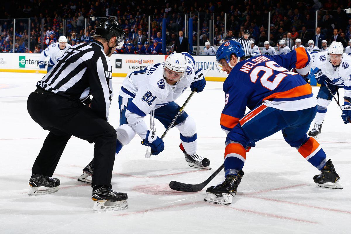 New York Islanders Vs Tampa Bay Lightning