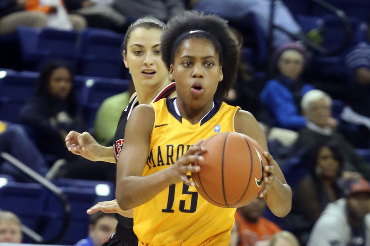 Kenisha Bell had 12 points for Marquette in the loss.