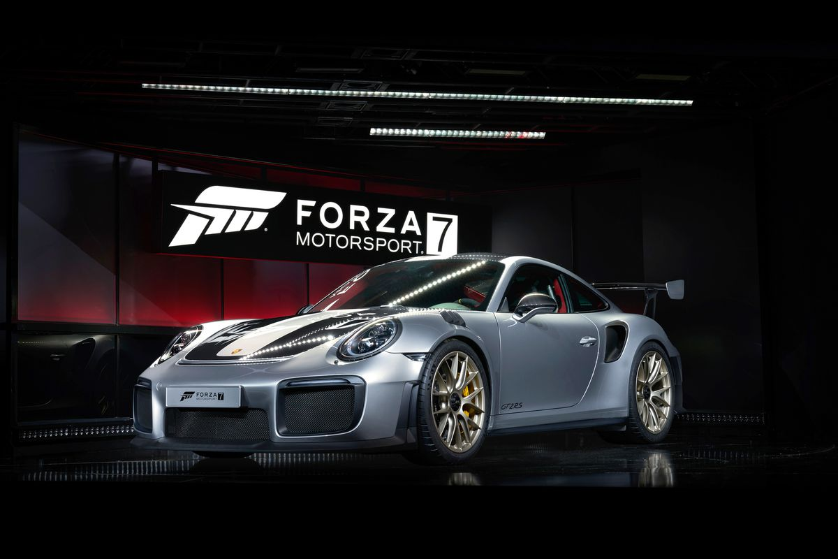 Porsche 911 GT2 RS unveiled as Forza Motorsport 7 cover auto