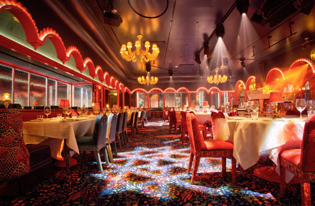 The middle room at The Mayfair Supper Club