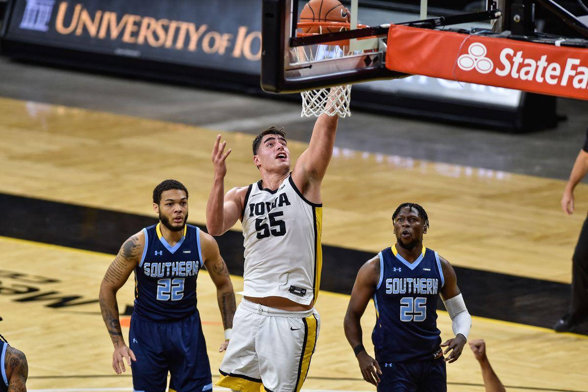 NCAA Basketball: Southern at Iowa