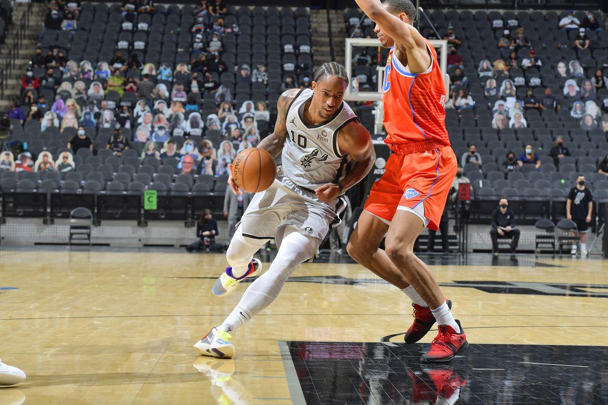Oklahoma City Thunder vs. San Antonio Spurs