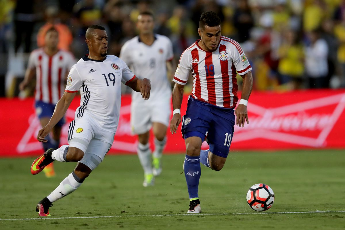 Late goals give Paraguay vital 2-1 win over Colombia