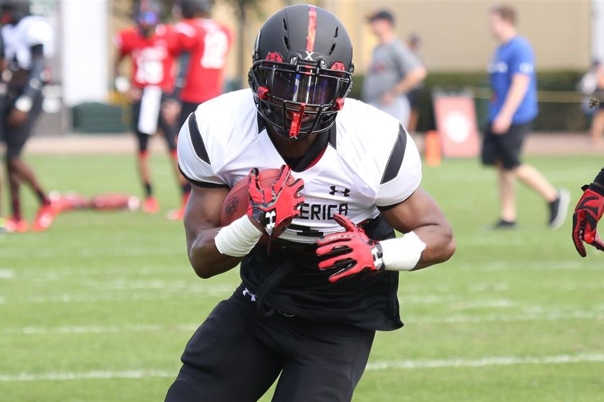 Miles Sanders at the Under Armour All-America Camp