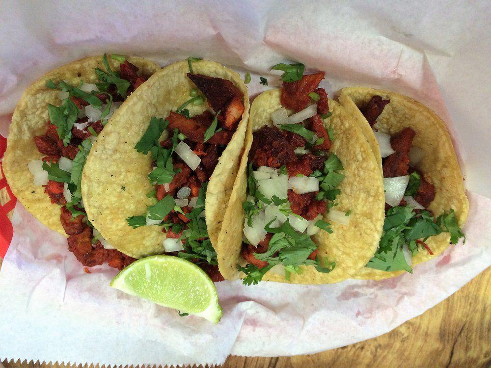 Al pastor tacos from Rosita's