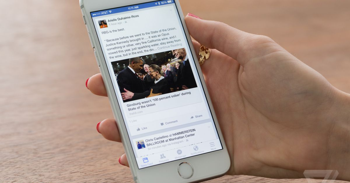 photo image Facebook's startling new ambition is to shrink