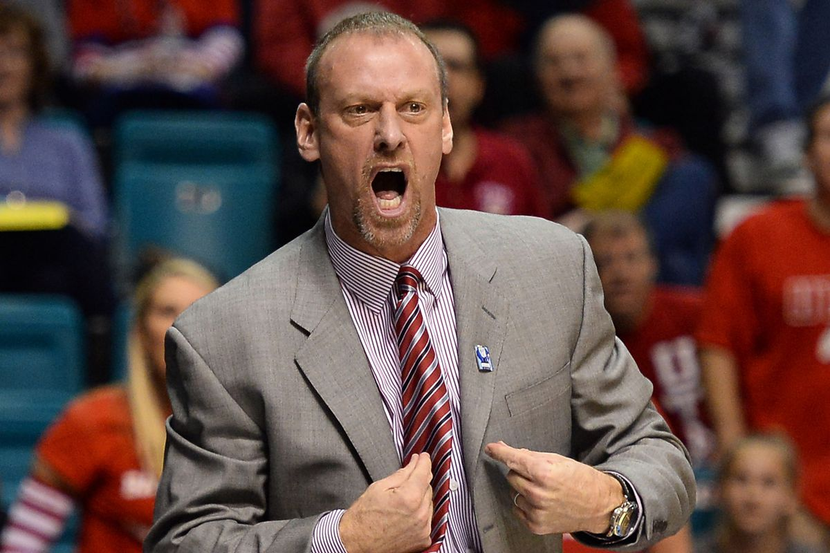 Runnin' Utes head coach Larry Krystkowiak is the man who will lead the Pac-12 All Stars to China