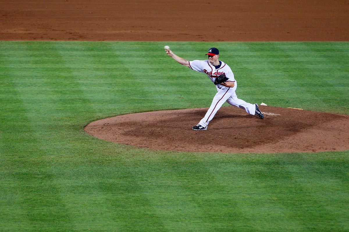 Craig Kimbrel's 2012 is one of the better pitching seasons by wOBA Against