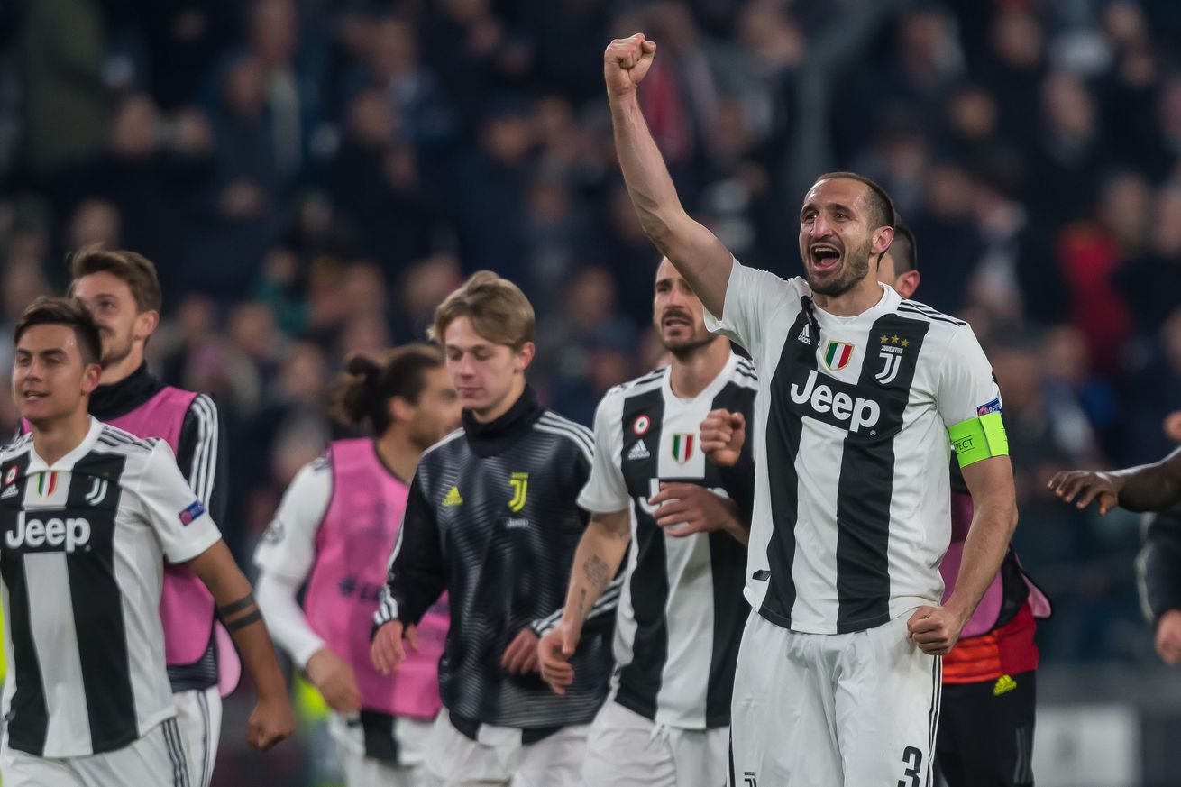 Juventus drawn against the young guns of Ajax in the UCL quarterfinals