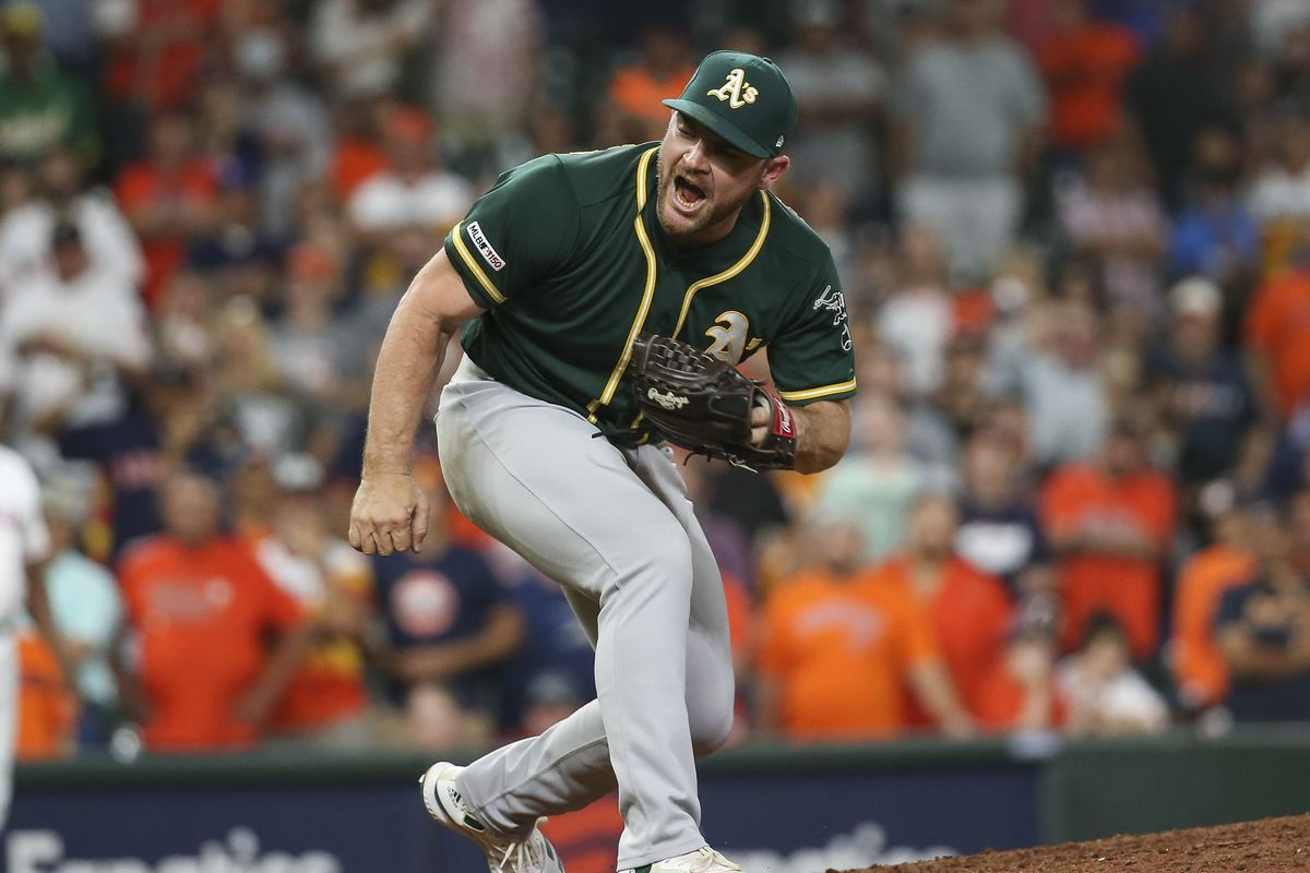 brand new 4ffc9 8fbd4 Elephant Rumblings: Oakland A's Hendriks nominated for ...