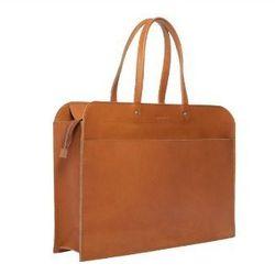 "<b>Kenzie Bryant, <a href=""http://racked.com"">Racked National</a> senior editor:</b> ""The Swedish brand <b>Sandqvist</b> makes a quality no-frills, streamlined laptop bag called <a href=""http://www.sandqvist.net/en/ebba-cognac-brown.html?grp=526988"">the E"