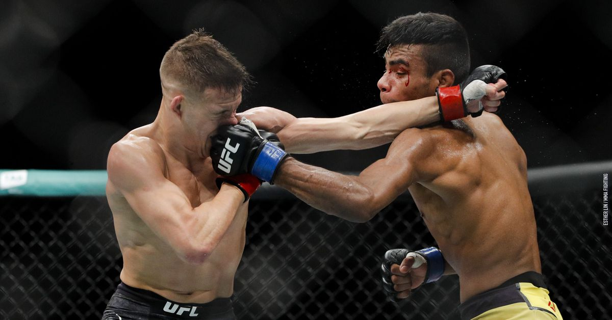 Raulian Paiva will call for Raphael Assuncao fight after replacing him at UFC Vegas 32