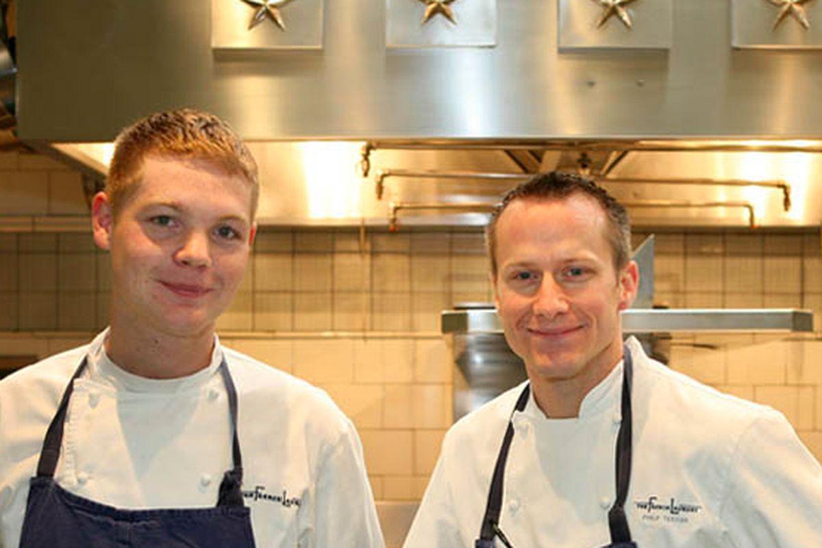 From left: Skylar Stover, Philip Tessier.